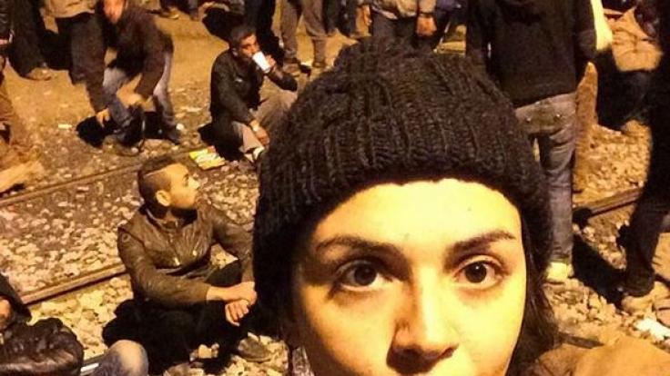 Rania floh aus Syrien und hielt die erschüternden Momente in einem Videotagebuch fest. (Foto)