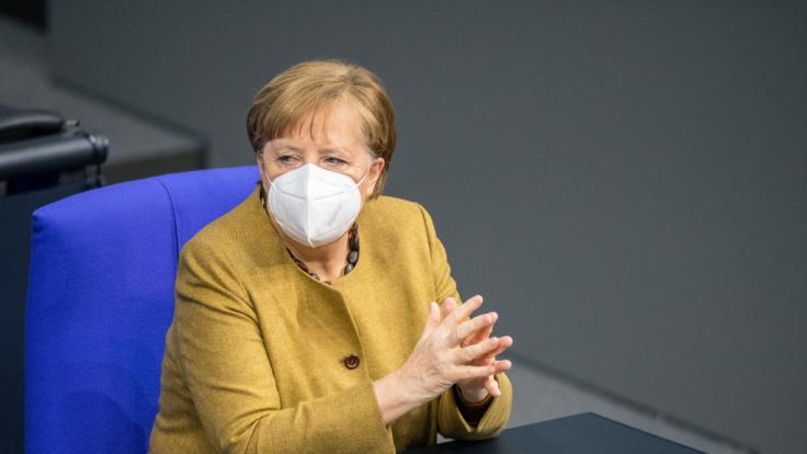 Bundeskanzlerin Angela Merkel (CDU) wird sich bei RTL erneut zur aktuellen Corona-Lage äußern. (Foto)