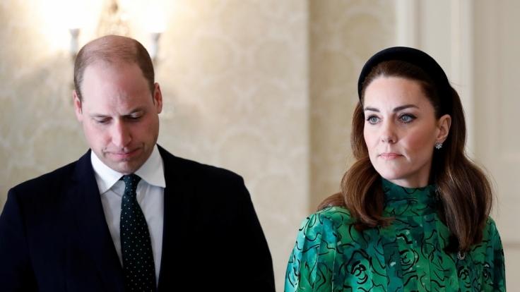Vor dem Anwesen von Prinz William und Kate Middleon wurde ein lebloser Frauenkörper gefunden.