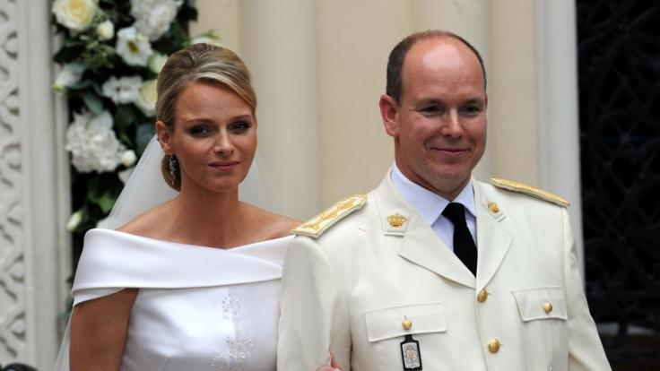 Prinz Albert und Charlene heirateten am 2. Juli 2011. (Foto)