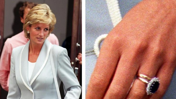 Nach dem Tod erbte Prinz Harry den Saphir-Ring seiner Mutter.