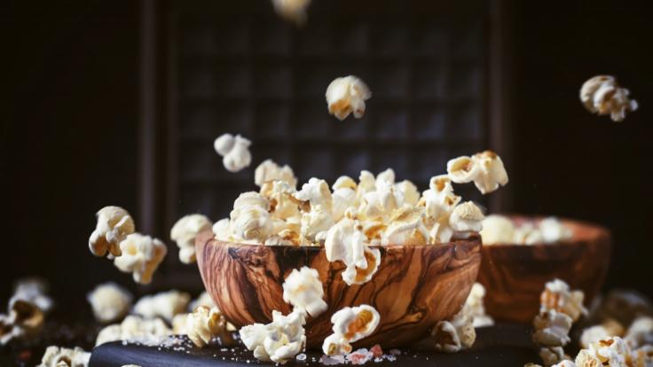 Welche gesunden Snacks für einen Filmabend gibt es? (Foto)