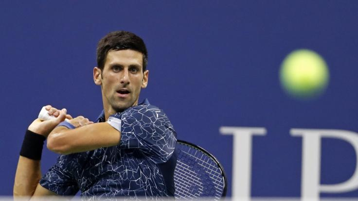 Novak Djokovic steht im US-Open-Finale. (Foto)