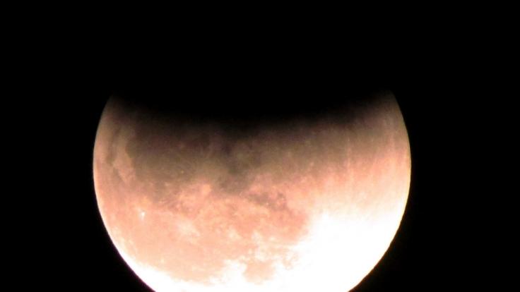 Am 27.07.2018 ist über Deutschland eine totale Mondfinsternis beobachtbar.