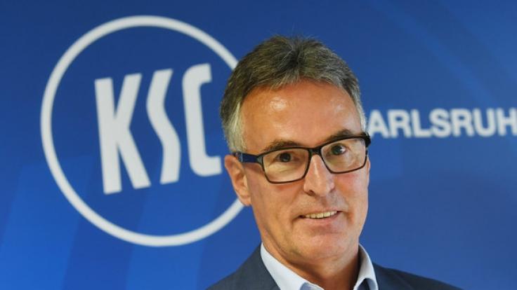 Helmut Sandrock ist seit dem 19.06.2017 als neuer Geschäftsführer des Karlsruher SC tätig.
