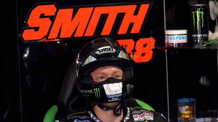 Bradley Smith belegt mit seiner Tech-3-Yamaha momenten den sechsten Rang der Weltmeisterschaft.