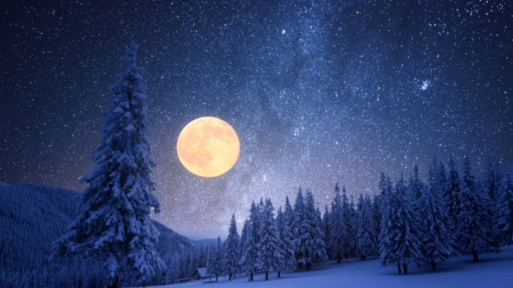 Mond-Botschaft! Das prophezeit der Weihnachts-Mond (Foto)