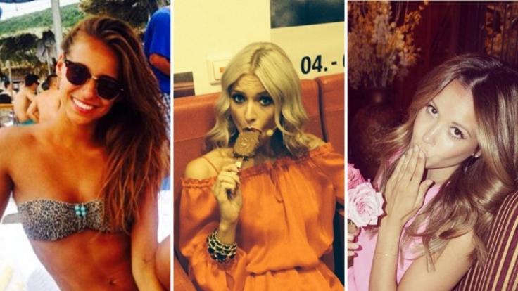 Mirjana Vasovic, Lena Gercke, Mandy Capristo: Die Spielerfrauen sind auf ihren Social-Media-Kanälen sehr aktiv und posten regelmäßig Selfies.