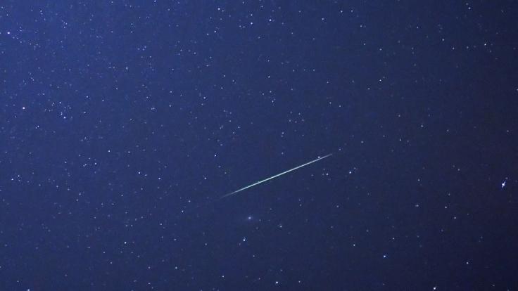 Im Oktober 2015 gibt es am Nachthimmel wieder unzählige Sternschnuppen zu bewundern. (Foto)
