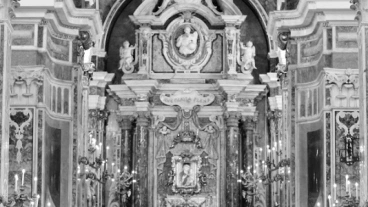 Die Kathedrale war für die Trauung perfekt. (Foto)