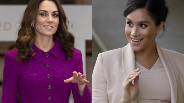 Kate Middleton und Meghan Markle sorgten auch in dieser Woche für Schlagzeilen.