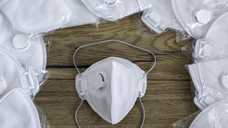 Die Maske soll innerhalb von 90 Minuten ein zuverlässiges Testergebnis liefern. (Foto)