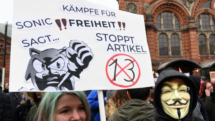 Am Samstag, dem 23. März 2019, wird deutschlandweit gegen die geplante EU-Urheberrechtsreform demonstriert.