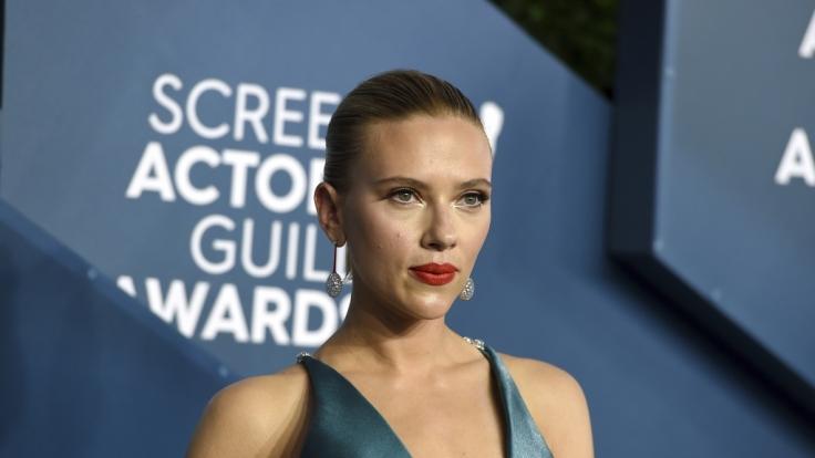 Schauspielerin Scarlett Johansson gewährte bei den