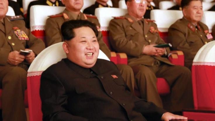 Kim Jong-un feiert am 8. Januar 2016 seinen 33. Geburtstag. (Foto)