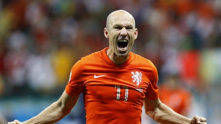 Am Samstag, den 12. Juli 2014, treten die Niederlande im Spiel um den dritten Platz gegen Brasilien bei der Weltmeisterschaft an. (Foto)