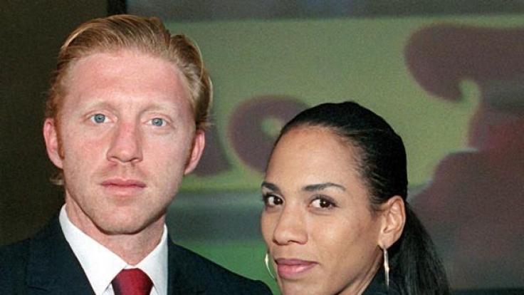 Boris Becker und Barbara in glücklichen Ehe-Jahren. (Foto)