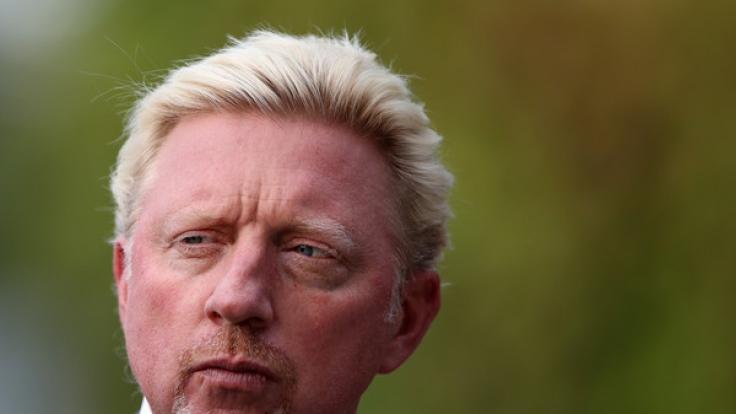 Boris Becker hatte vor kurzem eine schwere OP am Knöchel. (Foto)