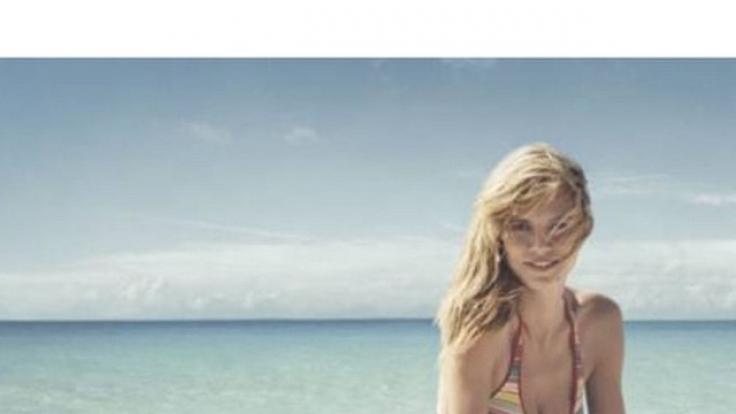 Heidi Klum früher: Alles schön üppig.