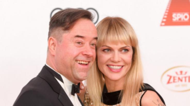 Jan Josef Liefers und Anna Loos beim46. Deutschen Filmball 2019.