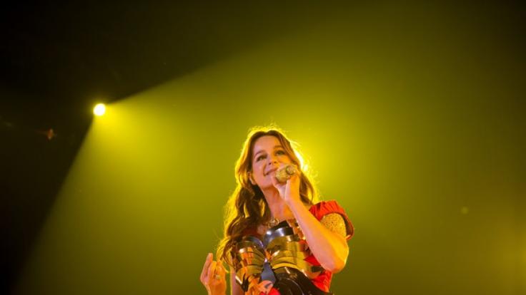 Andrea Berg kann sich während ihrer Konzerte auf eine Crew von rund 300 Mitarbeitern verlassen. (Foto)