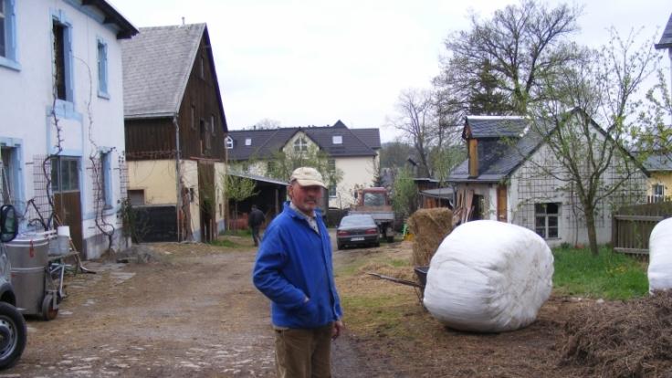 Reiner Lämmel sucht einen Nachfolger für seinen Hof. (Foto)