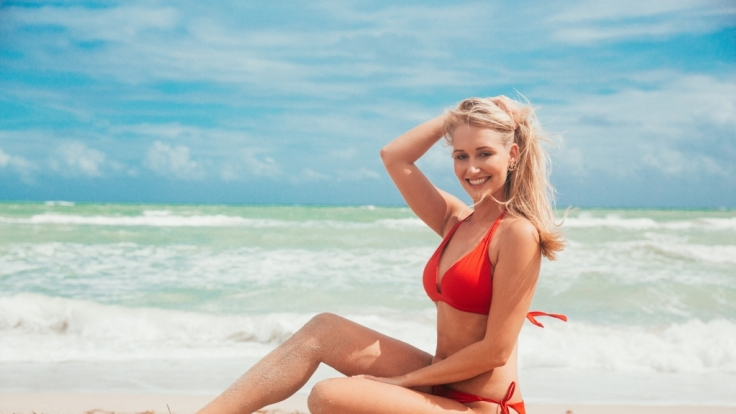 Ex-Miss-Bayern Janina Weschta. (Foto)