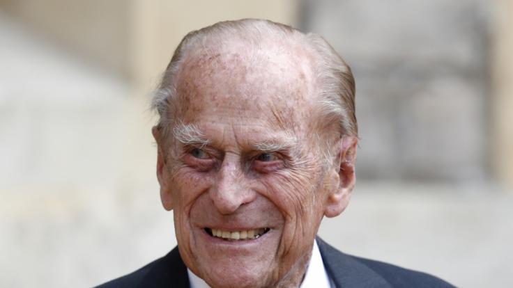 Am 17. April 2021 wird Prinz Philip auf Schloss Windsor beigesetzt. (Foto)