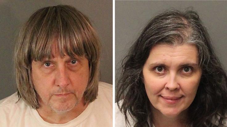 Das Ehepaar David und Louise Turpin wird wegen Folter angeklagt, nachdem ihre 13 Kinder über Jahre hinweg an Betten gekettet, misshandelt und mangelernährt wurden. (Foto)