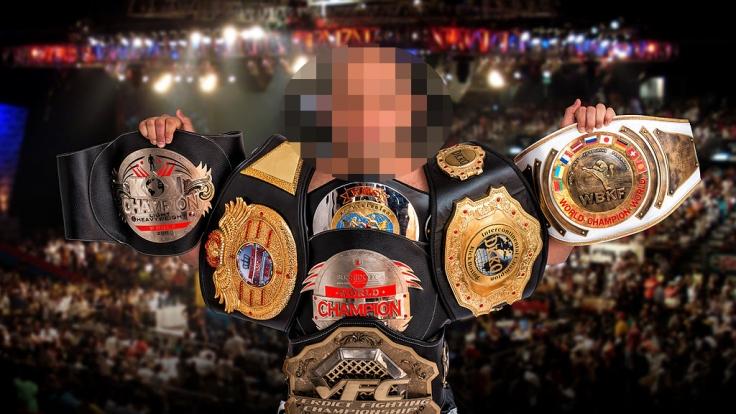 Musa Musalaev war mehrfacher russischer Kickbox-Weltmeister. (Foto)