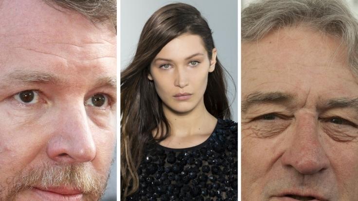 Guy Ritchie, Bella Hadid und Robert De Niro zählen zu unseren Promi-Verlierern der Woche. (Foto)