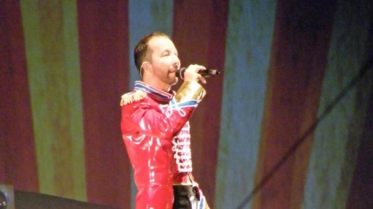 Zirkusdirektor DJ Bobo in der Leipziger Arena