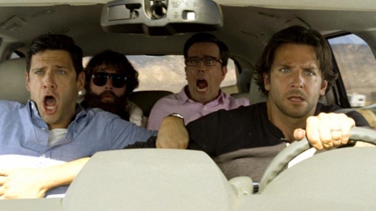 Die vier Jungs sind zum Junggesellenabschied in Vegas - eine fatale Nacht. (Foto)