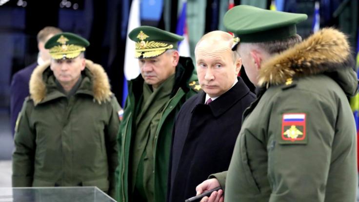 Greift Putin den Ostseeraum an?