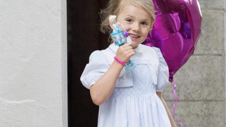Prinzessin Estelle verzaubert die Herzen Schwedens. (Foto)