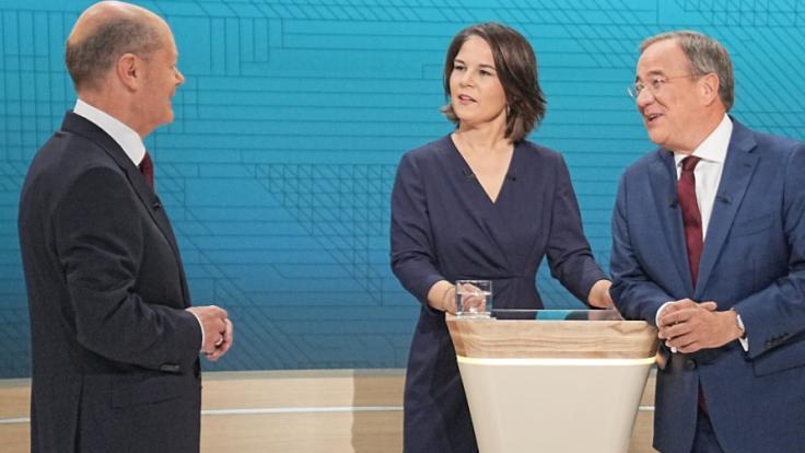 Das letzte TV-Triell geht am Sonntag, 19. September, über die Bühne. (Foto)