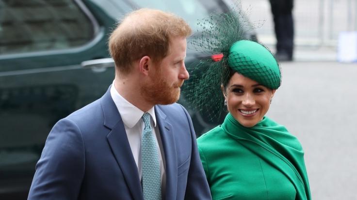 Müssen Prinz Harry und Meghan Markle bald ihre royalen Titel abgeben? (Foto)
