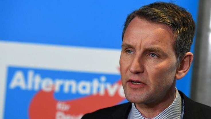 Auch der Bundestag verwechselte den Namen von Björn Höcke.
