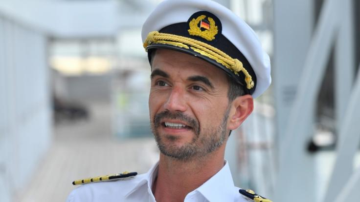 """Florian Silbereisen als """"Traumschiff""""-Kapitän Max Parger. (Foto)"""