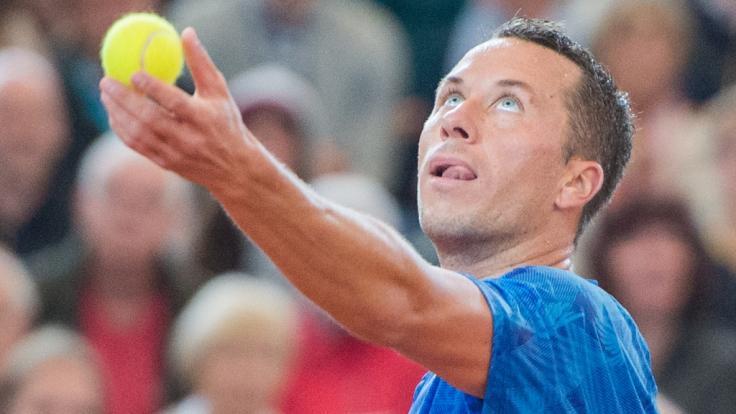Bei den German Open 2017 musste Philipp Kohlschreiber im Halbfinale verletzungsbedingt aufgeben - wie schlägt sich der 34-jährige Augsburger bei den German Open 2018?