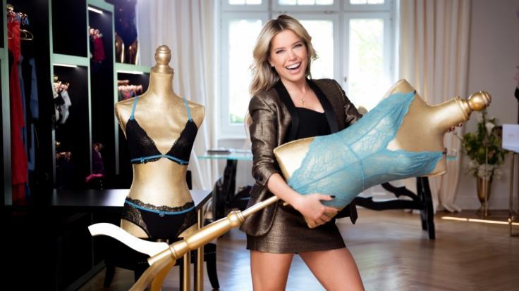 In ihrer eigenen TV-Show sucht Sylvie Meis eine Markenbotschafterin für ihre Dessous-Kollektion.