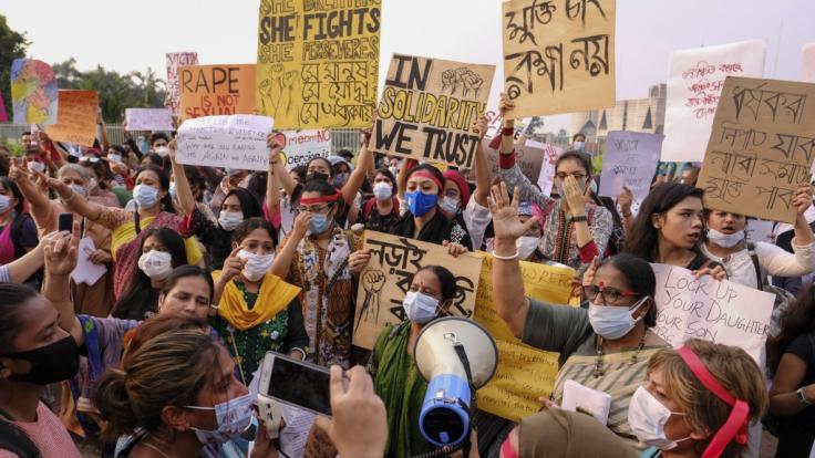 In Bangladesch wurde nach heftigen Protesten die Todesstrafe für Vergewaltiger beschlossen. (Foto)
