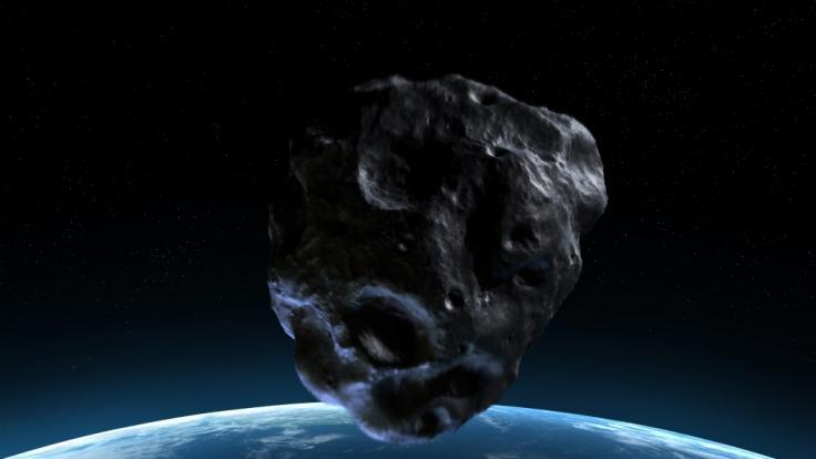 Wissenschaftler haben einen Asteroiden mit einem Sprengkörper beschossen, um zu beobachten, was passiert. (Foto)