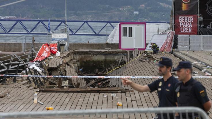 Rund 310 Festival-Besucher wurden bei dem Unfall verletzt.