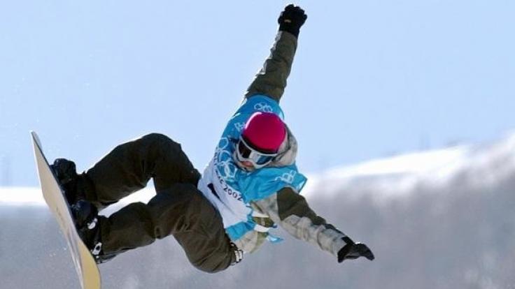 Nicola Thost bei den Olympischen Spielen 2002 in Salt Lake City. (Foto)