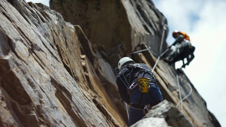 Ein 34-Jähriger stürzte beim Klettern in den Tod. (Foto)