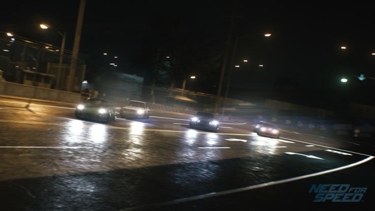 """Zusammen mit Freunden Ventura Bay erkunden: Dank des Multiplayers von """"Need for Speed"""" kein Problem. (Foto)"""