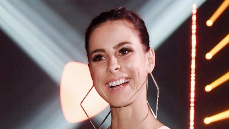 Sängerin Lena Meyer-Landrut heizt dem DFB-Team mächtig ein. (Foto)