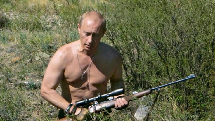 Wladimir Putin beherrscht die Selbstinszenierung.