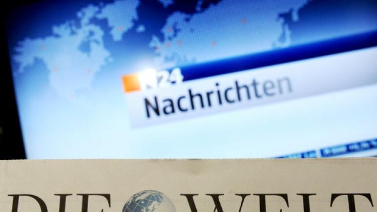 Tschüss N24, hallo Welt: Der Nachrichtensender firmiert ab sofort in neuem Gewand. (Foto)